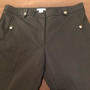 H&M Black Pants Size 12